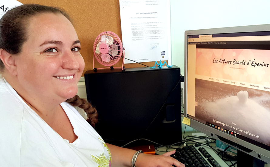 Sonia, le Webdesign une passion
